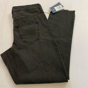 Universal Threads Size 10 Black Wash Straight Leg